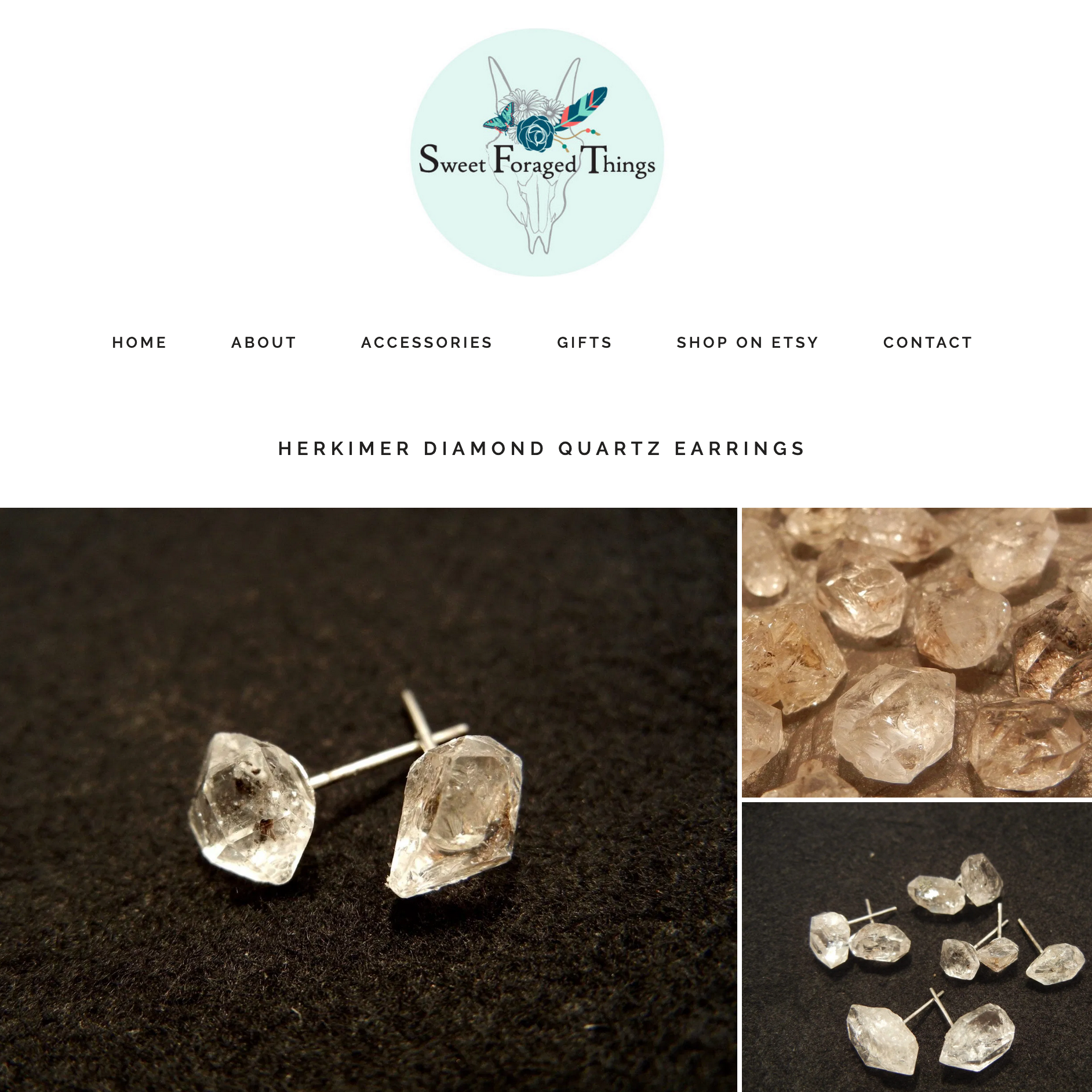 Image of Website Design for Jewelry Client